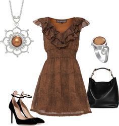 """Fall Flirty"" by jewelpop on Polyvore #thekaratpatch #myturkeyhasbling"