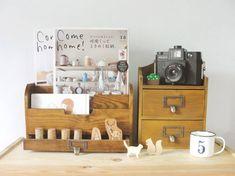 www.facebook.com/... wooden & craft heart handmade zakka home decor box storage drawer