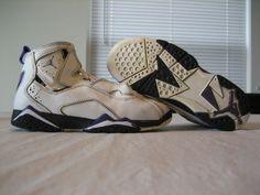 Boys Toddler Nike Air Jordan True Flight White  Black Purple Shoes Size  13c.  17.88 6aab3f985