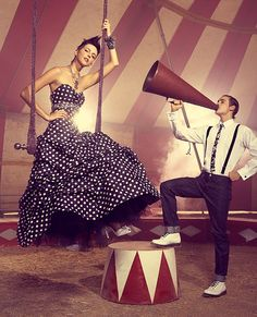pool parties, polka dots, inspiration, couture gowns, circus theme, teen magazin, circus idea, circus prom, prom themes