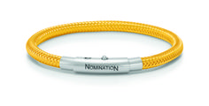 "Nomination ""You-Cool"" Yellow Copper Bracelet /w Stainless Steel Lock Now available at Diamond Dream Fine Jewelers https://www.facebook.com/pages/Diamond-Dream-Fine-Jewelers/170823023636 https://www.diamonddreamjewelers.com info@diamonddreamjewelers.com 908.766.4700"