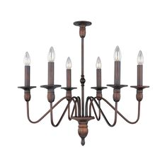 Towne 6-light Chandelier - Overstock™ Shopping - Great Deals on Maxim Lighting Chandeliers & Pendants