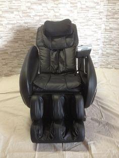 #1465 - Cozzia Massage Chair - 16027 - Black