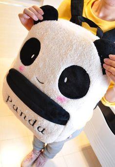 I don't know what this is but cute Kawaii Bags, Kawaii Clothes, Panda Love, Cute Panda, Amor Panda, Kawaii Fashion, Cute Fashion, Free School Supplies, Cute Backpacks