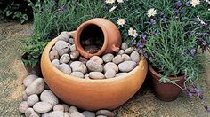 How To Make A Mini, Child-Safe Water Feature