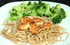cajun shrimp & pasta #recipe #healthy