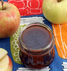 Mulled Apple Cider Jelly.  The first recipe that I've encountered exclusively with instructions for the Ball Jam and Jelly maker.  Easily adapted for the old school method, of course.