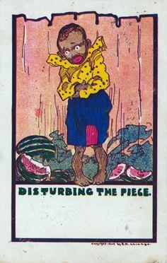 Vintage Antique Postcard (1907)