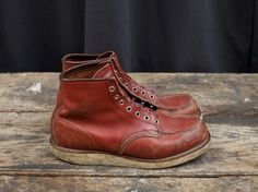 Vintage pair of 8131 Red Wing Boots