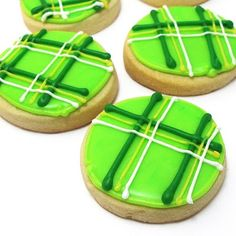 Plaid St. Patty's Cookie{s}