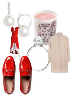 """Celebrate Our 10th Polyversary!"" by bellagioia ❤ liked on Polyvore featuring Pierre Cardin, Diptyque, Trollbeads, Mikimoto, Harris Wharf London, Gucci, polyversary and contestentry"