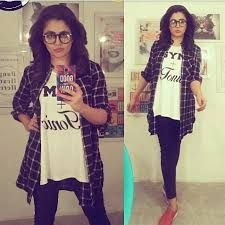 Image result for neha pendse fan pages Neha Pendse, Jean Outfits, Fan, T Shirts For Women, Image, Collection, Tops, Fashion, Yo Yo
