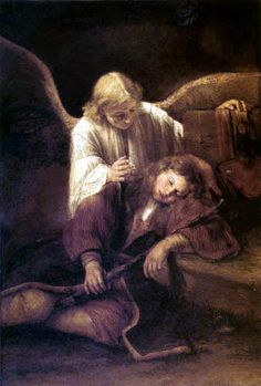 Jakob´s Dream to Aert (Arent) de Gelder we manufacture for you on watercolor paper, canvas or poster paper. Rembrandt, Joseph, Vampire Stories, Pagan Witchcraft, Dutch Golden Age, Academic Art, Peter Paul Rubens, Winterthur, Angels Among Us