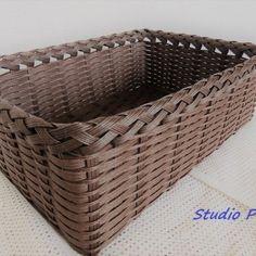 Laundry Basket, Wicker Baskets, Eco Craft, Crafts, Creema, Decor, Manualidades, Decoration, Handmade Crafts