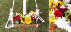 Knoxville Wedding Photographers :: Eden Bliss Weddings :: Fall Backyard Wedding