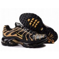 new product a313a ab418 Hommes Nike Air Max TN Noir Jaune