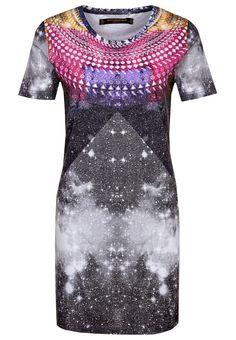 Flerfärgad klänning med tryck från Something Else @ Zalando