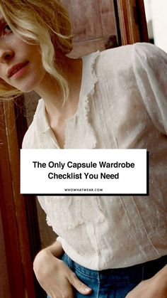 The ultimate capsule wardrobe checklist Wardrobe Sets, New Wardrobe, Wardrobe Staples, Capsule Wardrobe, Classy Yet Trendy, Minimal Wardrobe, Fashion Capsule, Minimal Fashion, Minimalist