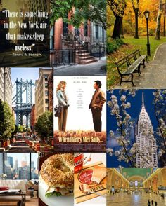 New York moodboard by The slow pace