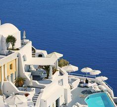 Katikies Hotel in Santorini, Greece