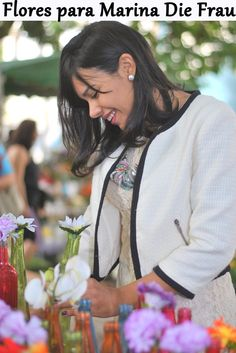 Flores para Die Frau em Belo Horizonte. Photo of flowers and blogger - Lifestyle