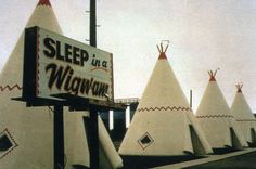 Wigwam Motel on Old Route 66 in Holbrook, Arizona