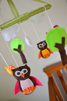Owl Nursery Mobile...DIY