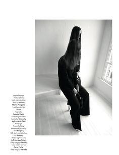 AnOther Magazine   Issue: Fall 2012  Title: Twin Fantasies  Models: Franziska Mueller   and Lula Osterdahl  Photography: Viviane Sassen    Styling: Mattias Karlsson