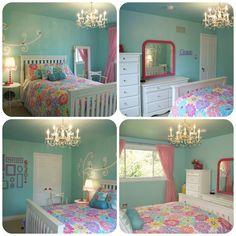 My House. My Canvas.: Grace's Room Reveal balmy seas Behr