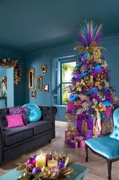 have some decorum: Super pretty Christmas trees and super ugly Christmas trees