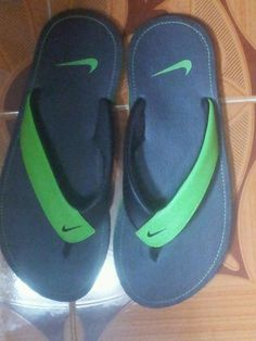 4c8670326 So, finally my Chroma Thong Black Nike flip flops are here. Courtesy:  @Myntra.com.com. Yay!!