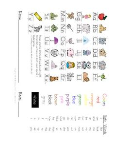 ideas about Kindergarten Homework Folder on Pinterest     Kindergarten Homework  A Complete Year of Supplies  Logs