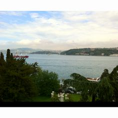 Bosphorus view from sabanci museum