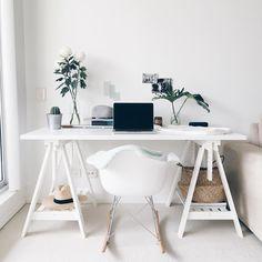 Ikea 'Finnvard' desk @cyliaherbertson