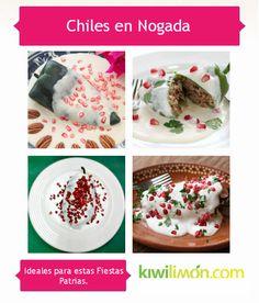"""Los Chiles en Nogada son considerados """"El platillo Poblano por excelencia"""", anímate a cocinarlo este fin patrio con alguna de estas recetas."""