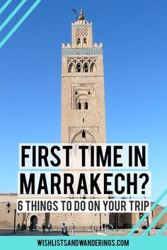 Headed to Morocco? Lucky you! Marrakech is an incredibly vibrant, colourful and busy tourist-friendly city, with an intriguing mix of influences and traditions and amazing food. From navigating the souks (markets) of the Medina, to the palaces, ancient tombs and the Atlas Mountains, there's a lot to do in Marrakech. Here are some tips and favourite finds (from restaurants to cultural attractions) to get you started on your Moroccan holiday.