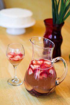 Sparkling Strawberry-Grapefruit Sangria   Katie at the Kitchen Door