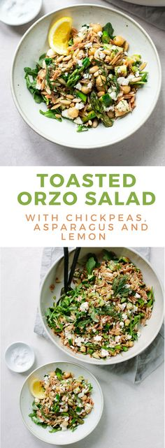 Toasted Orzo Salad w