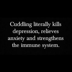 There were have it...another reason to cuddle. Still taking applications for position of small spoon. O:-)