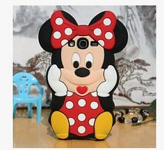 3D Minnie Mouse Soft Silicone Case For Samsung Galaxy Grand Neo i9060