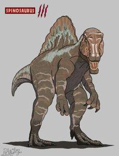 Jurassic Park Spinosaurus by JurassicWorldFan