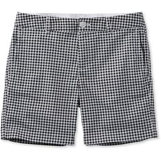 "L.L.Bean Washed Chino Shorts, 6"" Print  Misses ($50) ❤ liked on Polyvore featuring shorts, stretch shorts, print shorts, khaki shorts, stretchy shorts and tailored shorts"