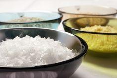 Fiocchi di sale a forma piramidale