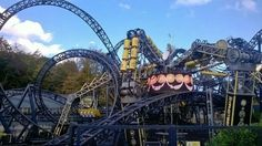The Smiler (2013) at Alton Towers