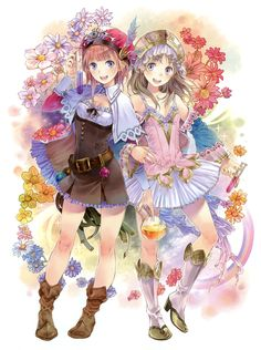 Promotional Illustration - Characters & Art - Atelier Totori: The Adventurer of Arland
