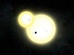 米航空宇宙局NASAの天文学者チームが恒星2個の連星系を公転する太陽系外惑星を発見したとそうですよ 主星からの距離は人が居住可能な環境を形成し得る範囲にあるそうですよ これは凄い tags[海外]