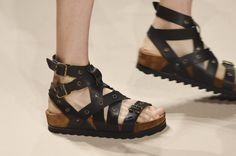 7364792c926 59 of the Finest Flats and Sandals on the Runway at Fashion Week