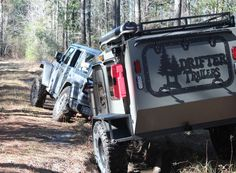 Drifter Trailers - Teardrop Camper, Off Road Camper, Teardrop Camper | Drifter Trailers Small Camper Trailers, Off Road Camper Trailer, Small Campers, Trailer Build, Expedition Trailer, Overland Trailer, Off Road Teardrop, Small Camping Trailer, Camping Trailers