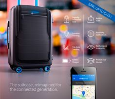 Bluesmart: World's First Smart, Connected Carry-On | Indiegogo