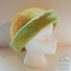 The Funky Felter: How To Make a Felted Hat - A Tutorial for Combined Needle and Wet Felting Techniques